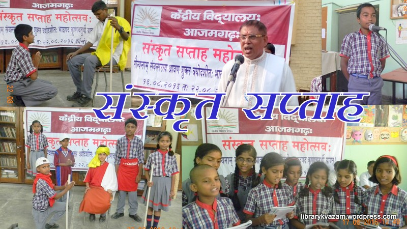 SANSKRIT WEEK CELEBRATED